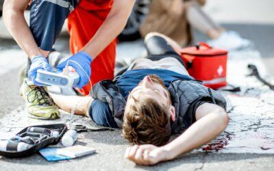 Wypadek drogowy a poważne obrażenia ciała